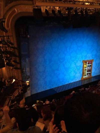 Walter Kerr Theatre, sección: Mezzl, fila: E, asiento: 19