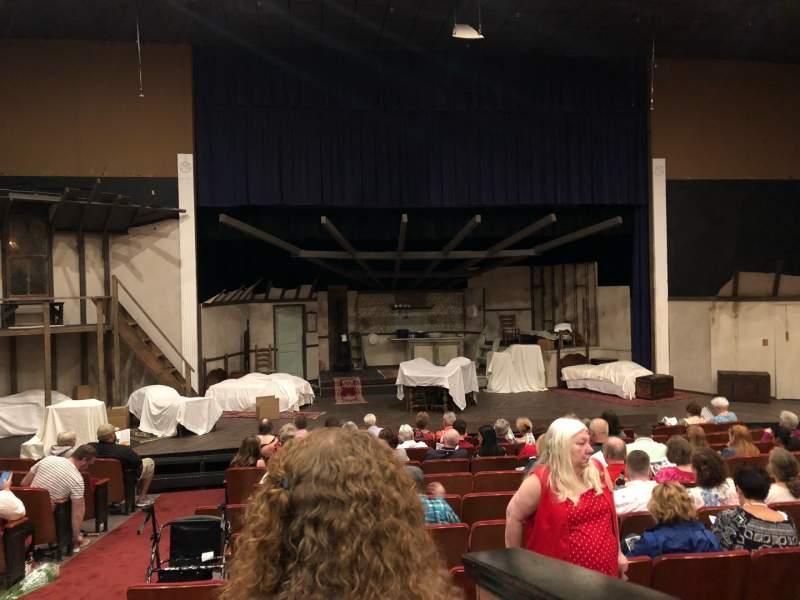 Vistas desde el asiento para DeSoto Theater Sección Loge Left Fila J Asiento  117