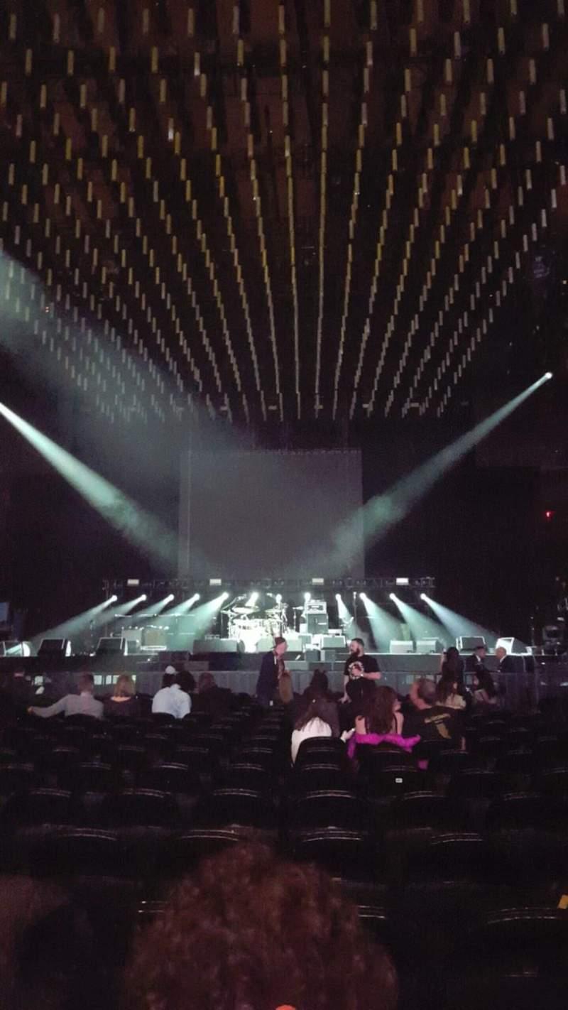 Vistas desde el asiento para Madison Square Garden Sección Floor B Fila 18 Asiento 13