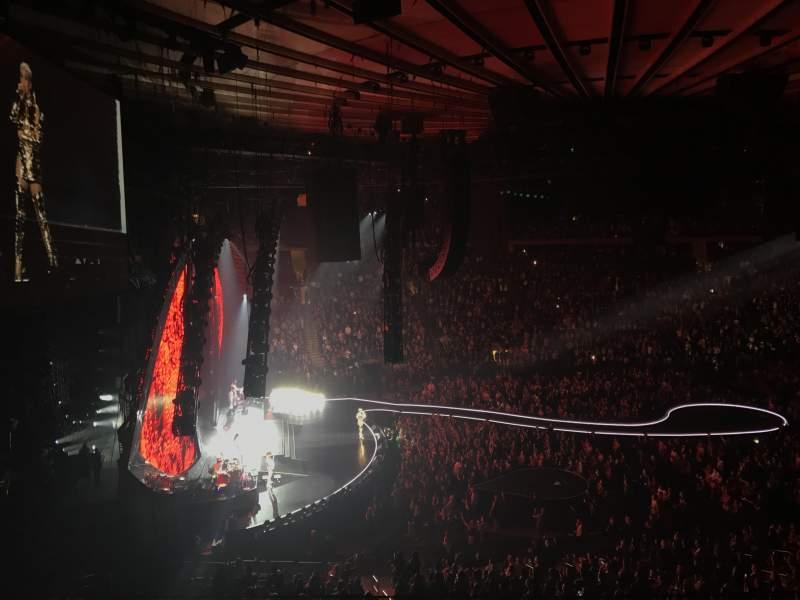 Vistas desde el asiento para Madison Square Garden Sección 222 Fila 4 Asiento 14
