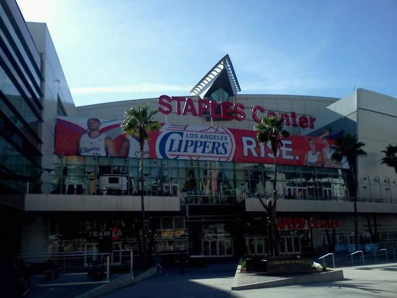 Vistas desde el asiento para Staples Center