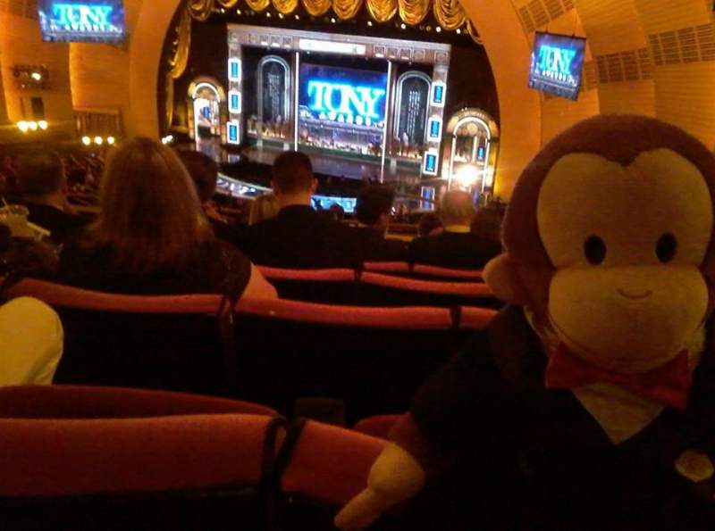 Radio City Music Hall, sección: 2nd Mezzanine 2, fila: J, asiento: 201