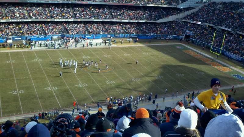 Soldier Field, sección: 440, fila: 22, asiento: 15
