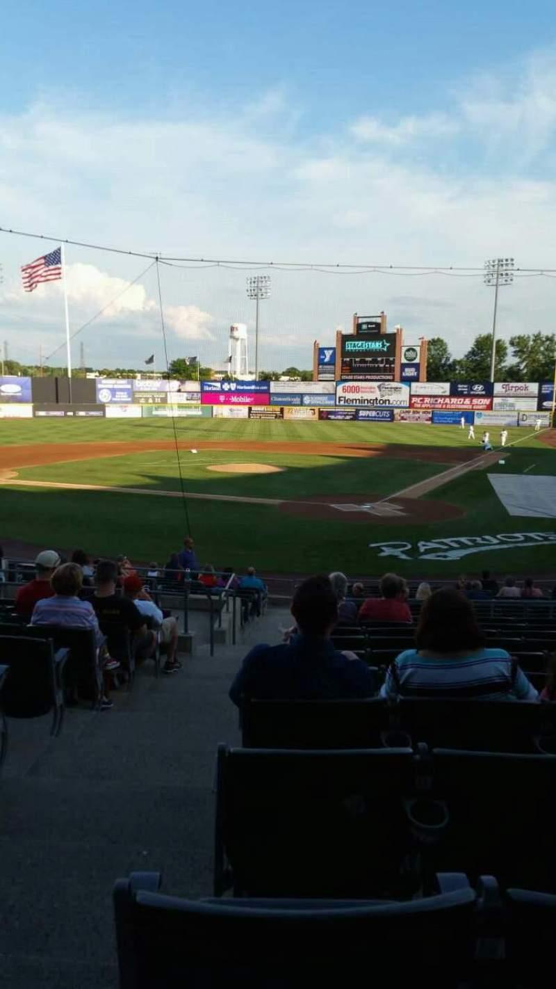TD Bank Ballpark, sección: 204, fila: U, asiento: 17