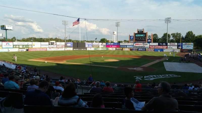 TD Bank Ballpark, sección: 204, fila: U, asiento: 14