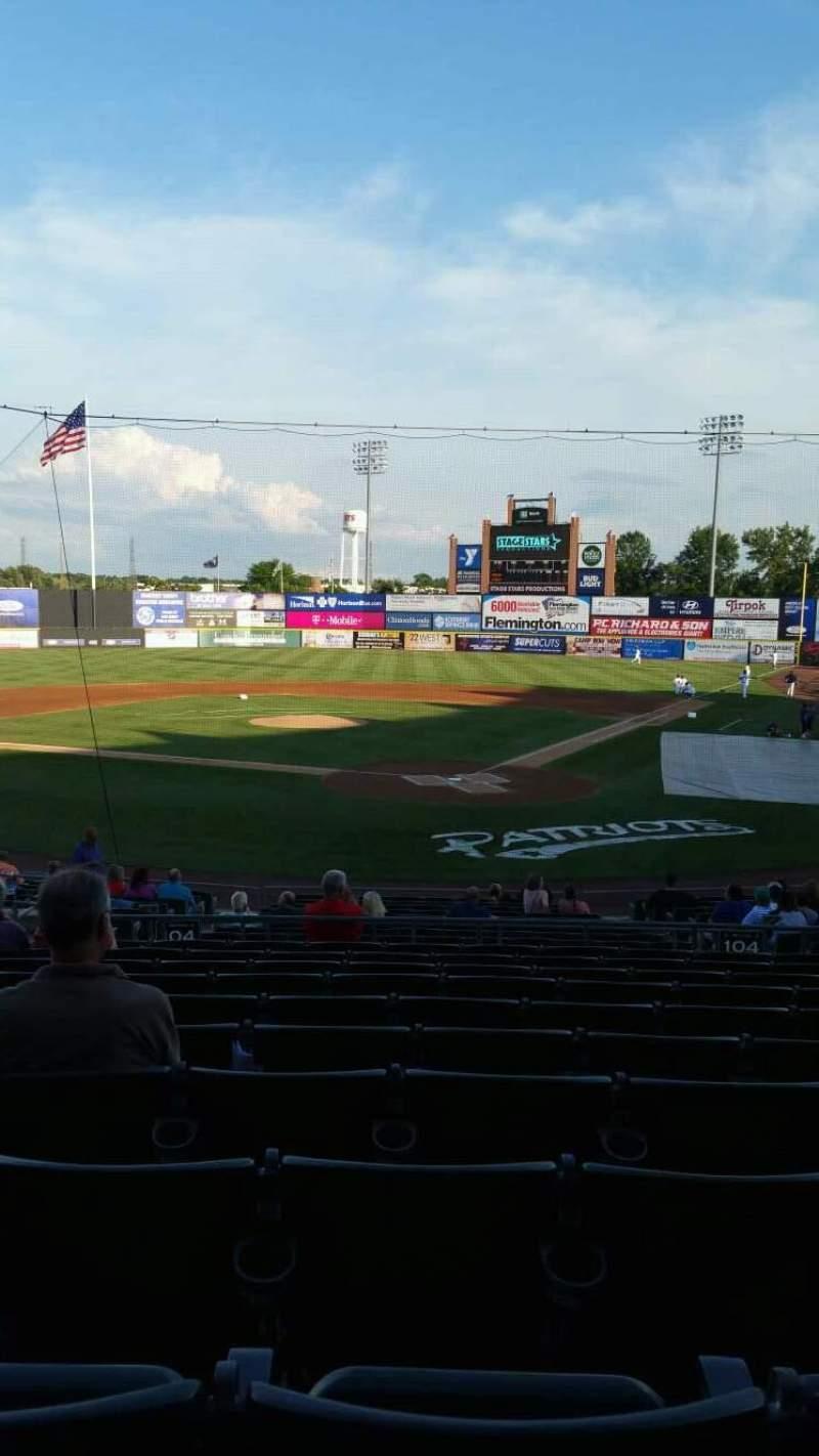 TD Bank Ballpark, sección: 204, fila: U, asiento: 11