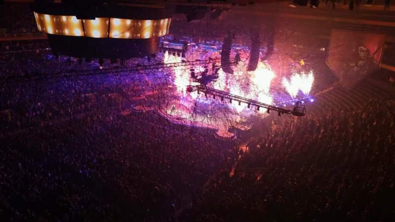 Vistas desde el asiento para Madison Square Garden Sección 311 Fila 1 Asiento 6