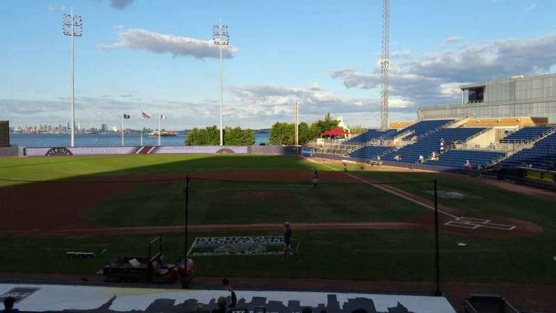 Vistas desde el asiento para Richmond County Bank Ballpark Sección 7 Fila R Asiento 19