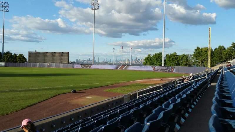 Vistas desde el asiento para Richmond County Bank Ballpark Sección 14 Fila G Asiento 24