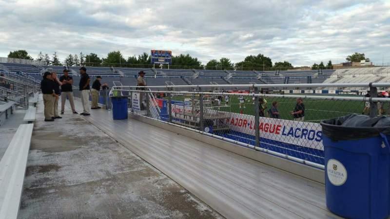 Vistas desde el asiento para James M. Shuart Stadium Sección 3 Fila 1 Asiento 13