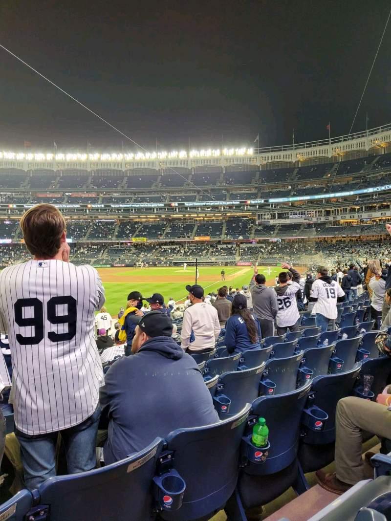 Vistas desde el asiento para Yankee Stadium Sección 131 Fila 16 Asiento 14