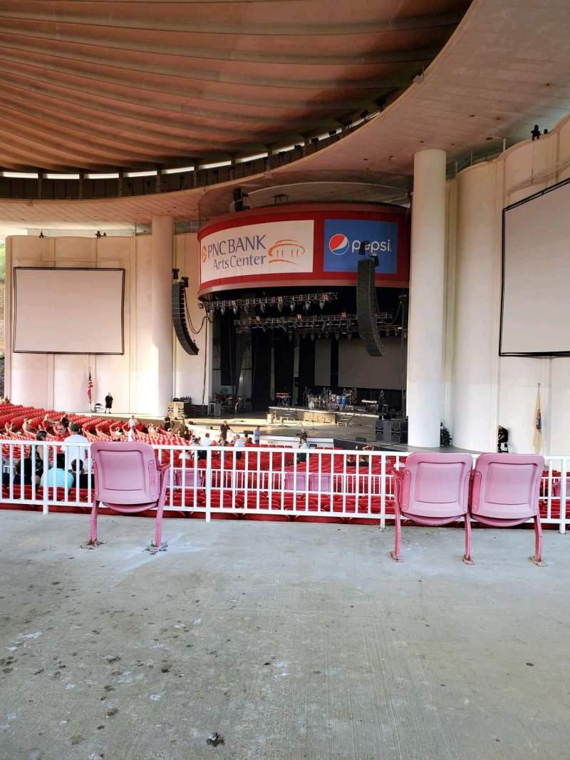 Vistas desde el asiento para PNC Bank Arts Center Sección 301 Fila A Asiento 48