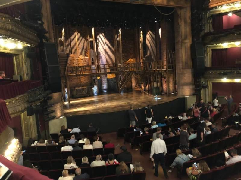 CIBC Theatre, sección: DRCR-L, fila: A, asiento: 1