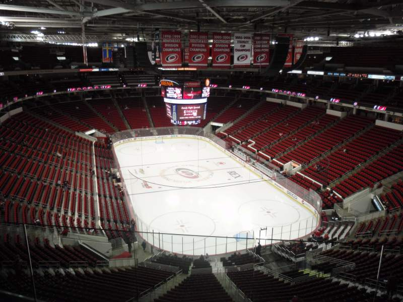 PNC Arena, sección: 316, fila: E, asiento: 5