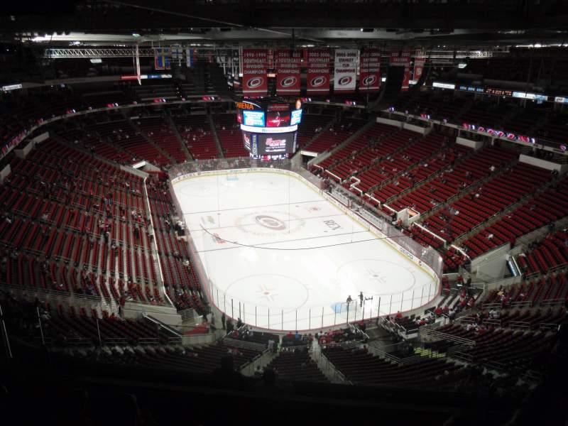 PNC Arena, sección: 316, fila: J, asiento: 6