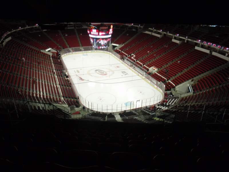 PNC Arena, sección: 316, fila: N, asiento: 7
