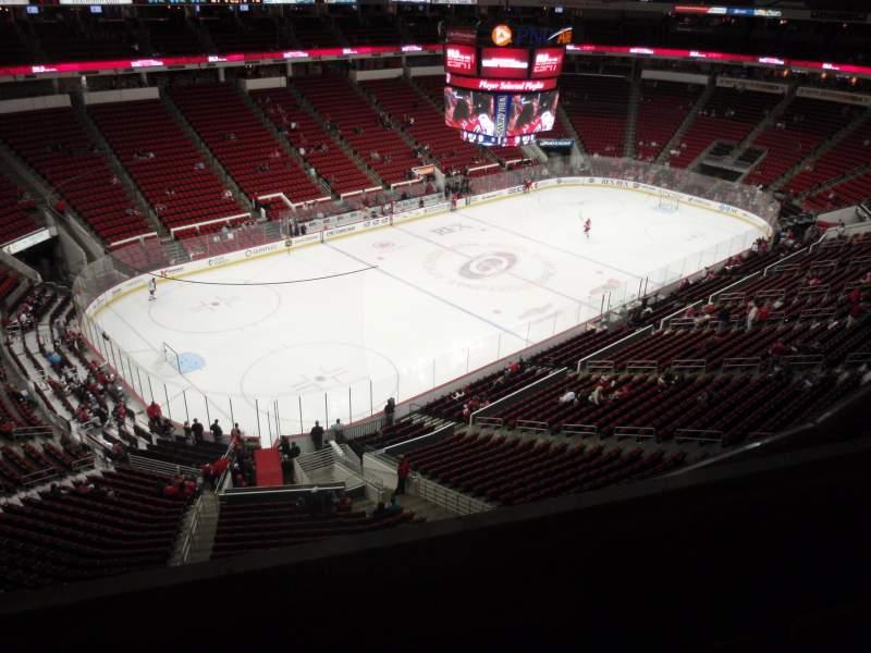 Vistas desde el asiento para PNC Arena Sección 328 Fila C Asiento 10