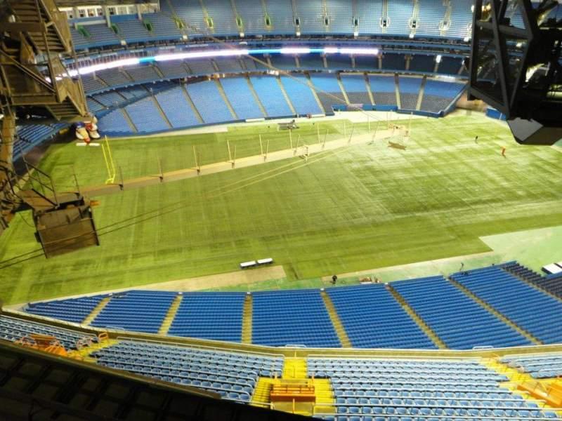 Vistas desde el asiento para Rogers Centre Sección 700 Level