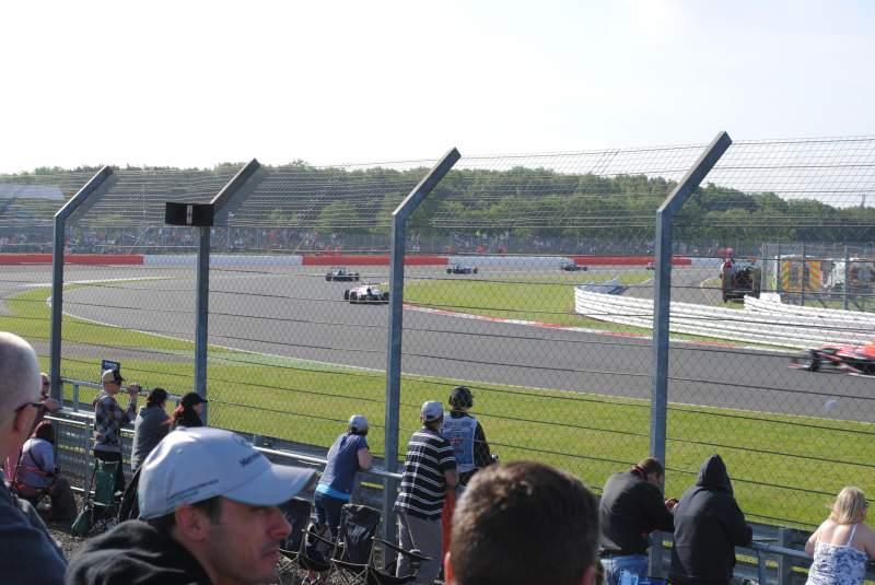 Vistas desde el asiento para Silverstone Circuit Sección General Admission