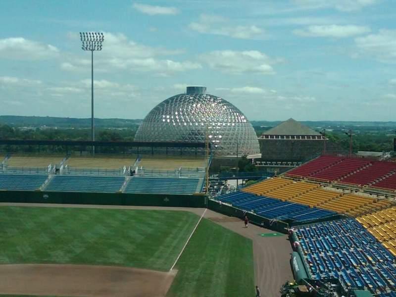 Vistas desde el asiento para Rosenblatt Stadium Sección 15 Fila A Asiento 1