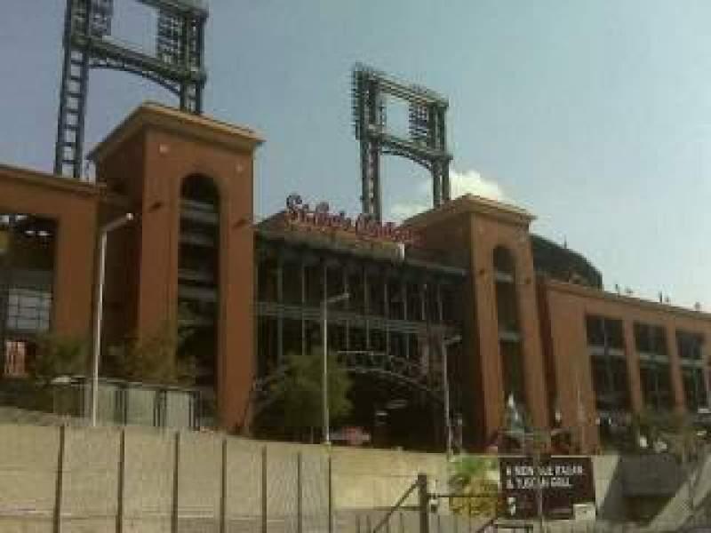 Vistas desde el asiento para Busch Stadium