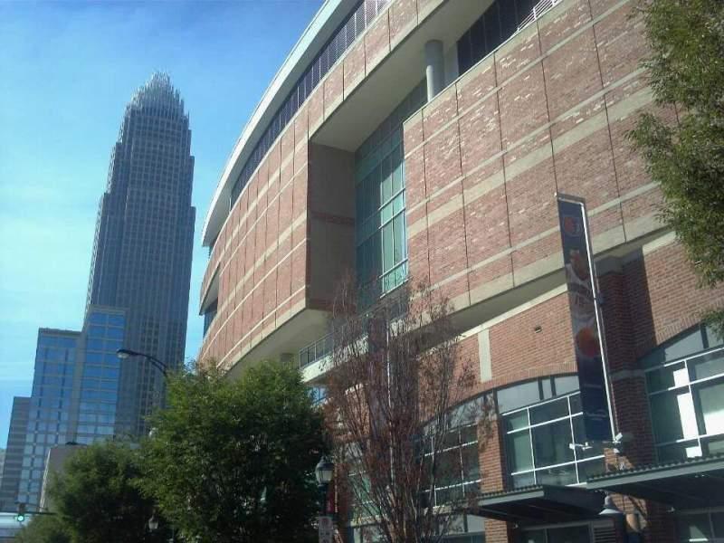 Vistas desde el asiento para Spectrum Center Sección Street View