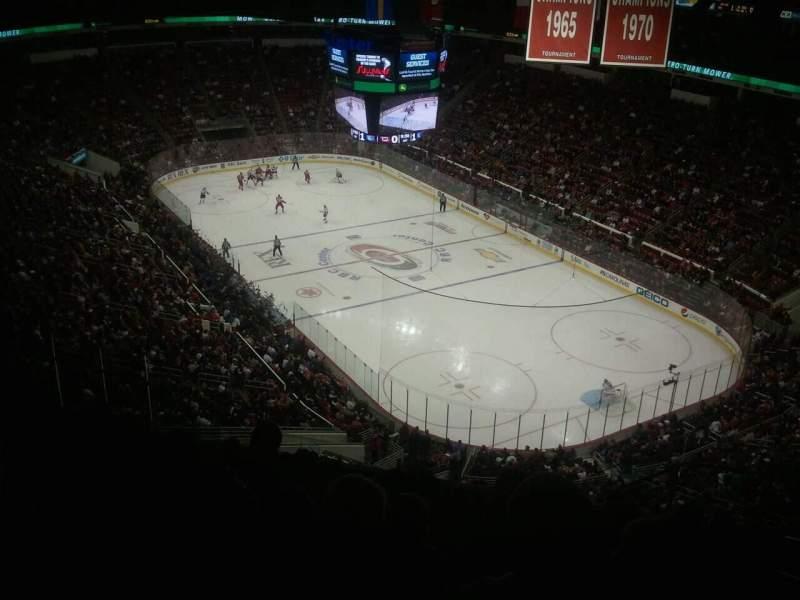 PNC Arena, sección: 336, fila: L, asiento: 6