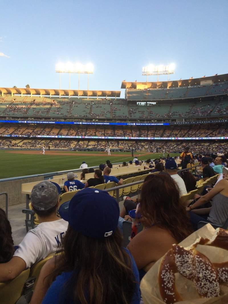 Vistas desde el asiento para Dodger Stadium Sección 47FD Fila C Asiento 4
