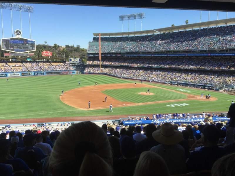 Vistas desde el asiento para Dodger Stadium Sección 139LG Fila S Asiento 7