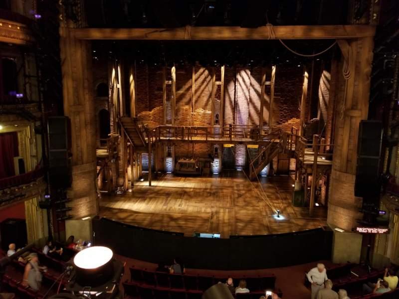 CIBC Theatre, sección: MEZZRC, fila: A, asiento: 302