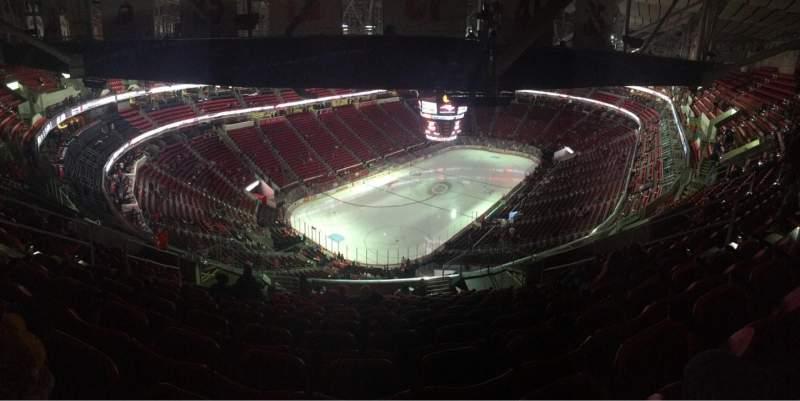 Vistas desde el asiento para PNC Arena Sección 310 Fila N
