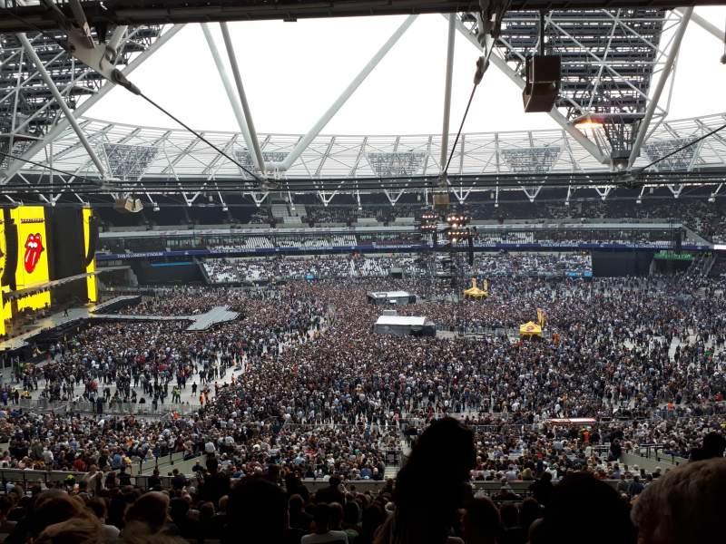 Vistas desde el asiento para London Stadium Sección 235 Fila 58 Asiento 469