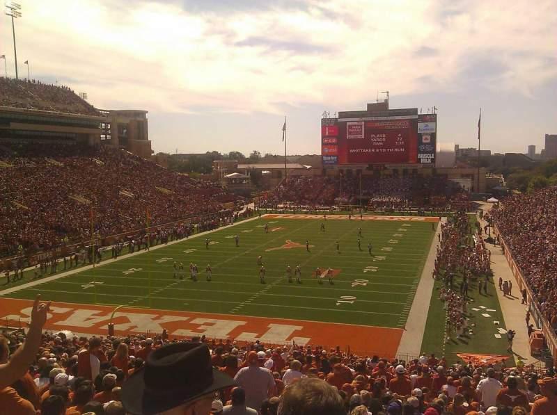 Vistas desde el asiento para Texas Memorial Stadium Sección 15 Fila 52 Asiento 1
