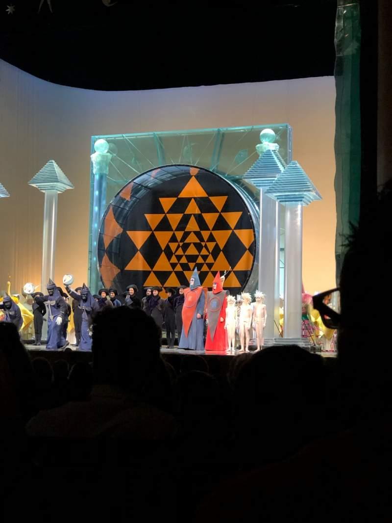 Vistas desde el asiento para Metropolitan Opera House - Lincoln Center Sección Orchestra Fila N Asiento 16