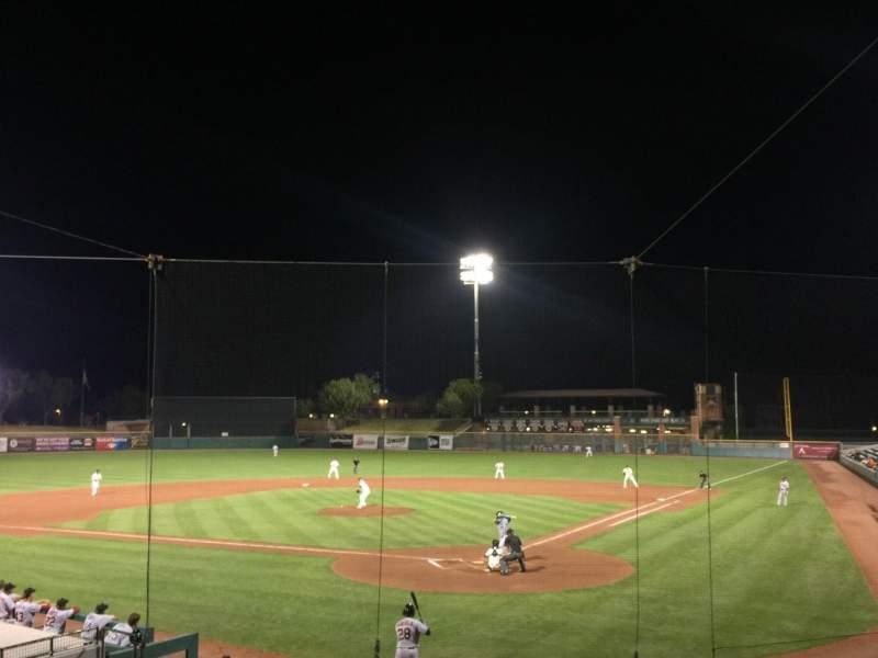 Vistas desde el asiento para Scottsdale Stadium Sección 201 Fila O Asiento 11