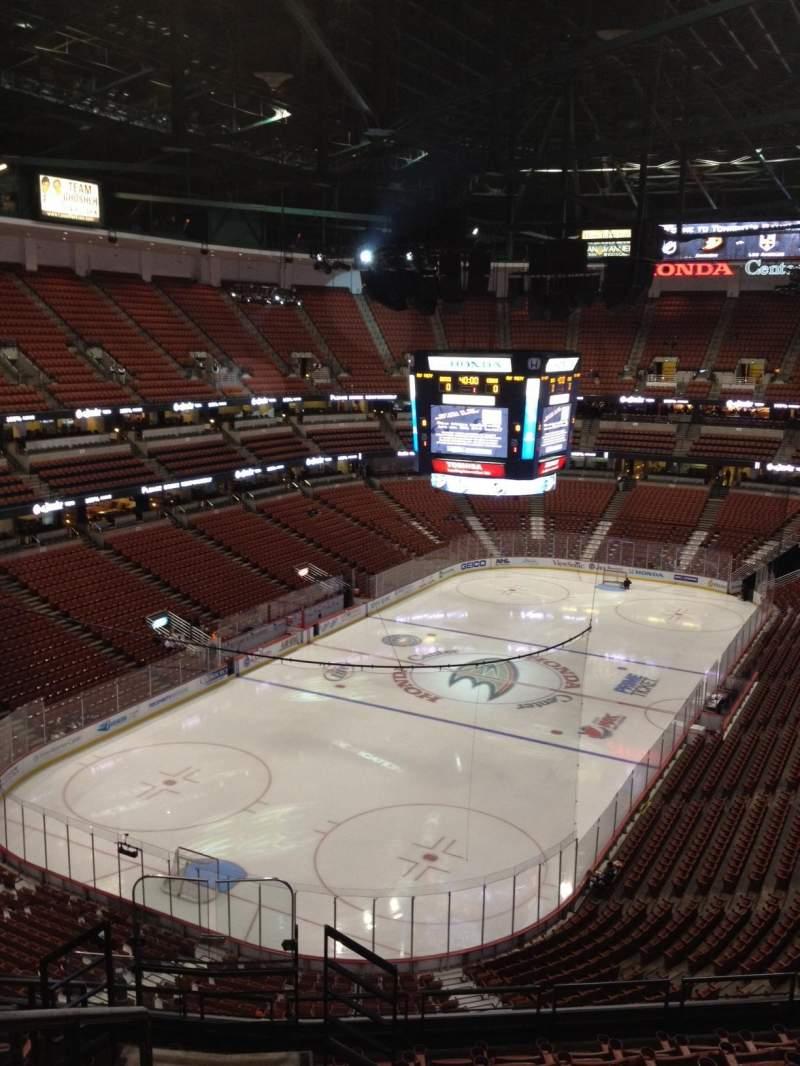 Honda Center, sección: 441, fila: K, asiento: 12