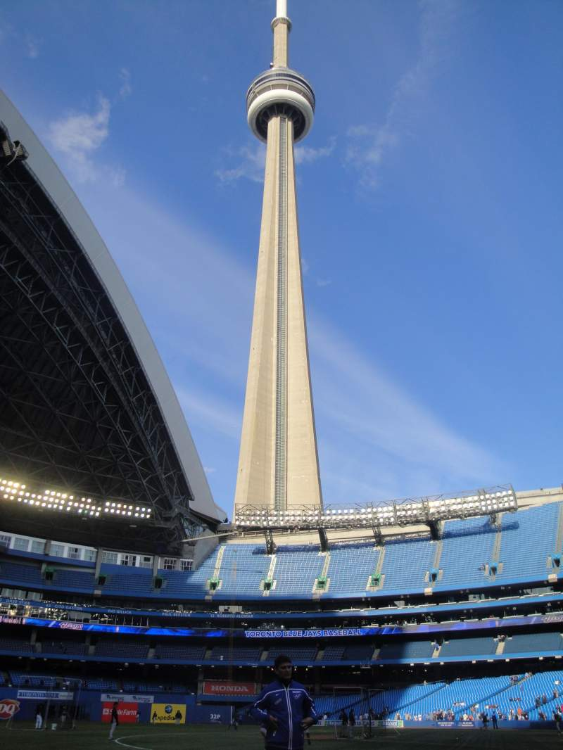 Vistas desde el asiento para Rogers Centre Sección 129L Fila 1 Asiento 103