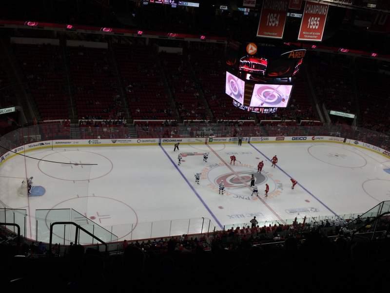 PNC Arena, sección: 308, fila: K, asiento: 16