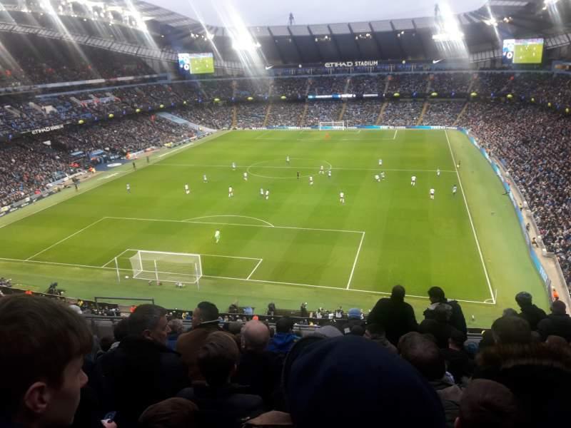 Etihad Stadium Manchester Sección 314 Fila K Asiento
