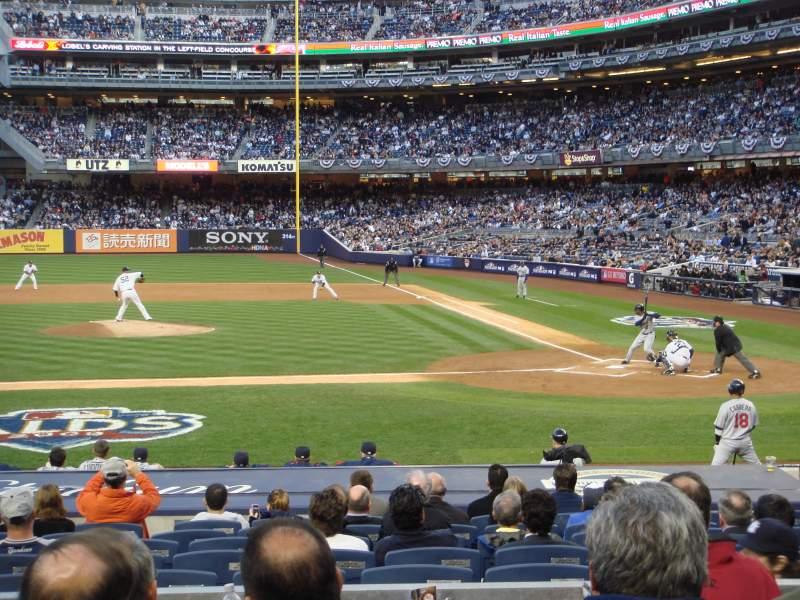 Vistas desde el asiento para Yankee Stadium Sección 123 Fila 16 Asiento 5