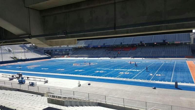 Vistas desde el asiento para Albertsons Stadium Sección 20 Fila W Asiento 10
