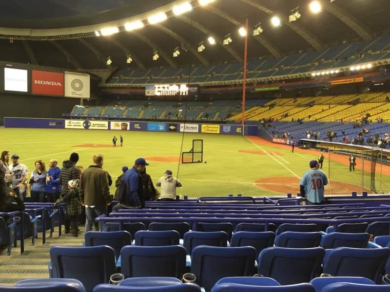 Olympic Stadium, Montreal, sección: 106, fila: QQ, asiento: 11