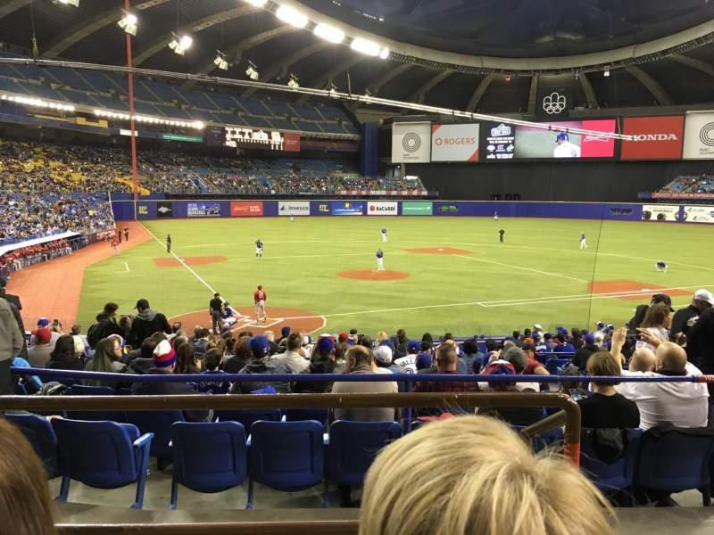 Olympic Stadium, Montreal, sección: 103, fila: C, asiento: 13