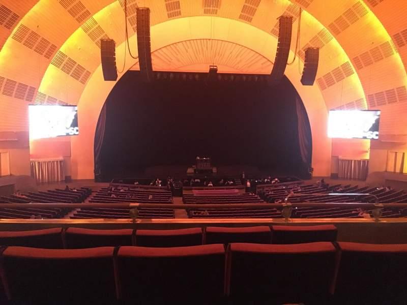 Radio City Music Hall, sección: 1st Mezzanine 5, fila: D, asiento: 503