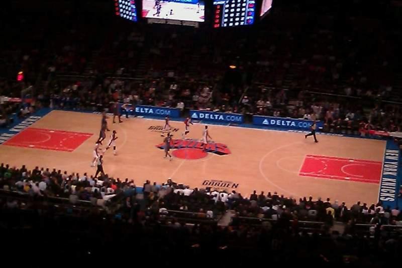 Vistas desde el asiento para Madison Square Garden Sección 225