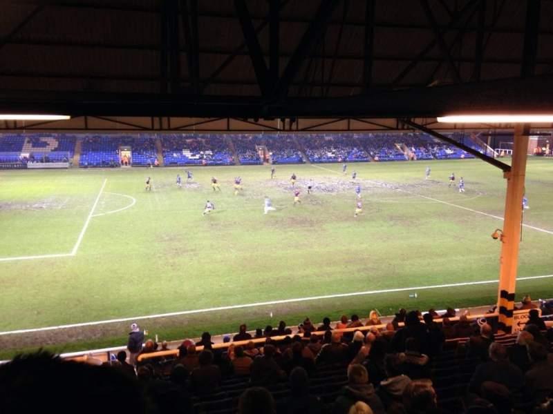 Vistas desde el asiento para London Road Stadium