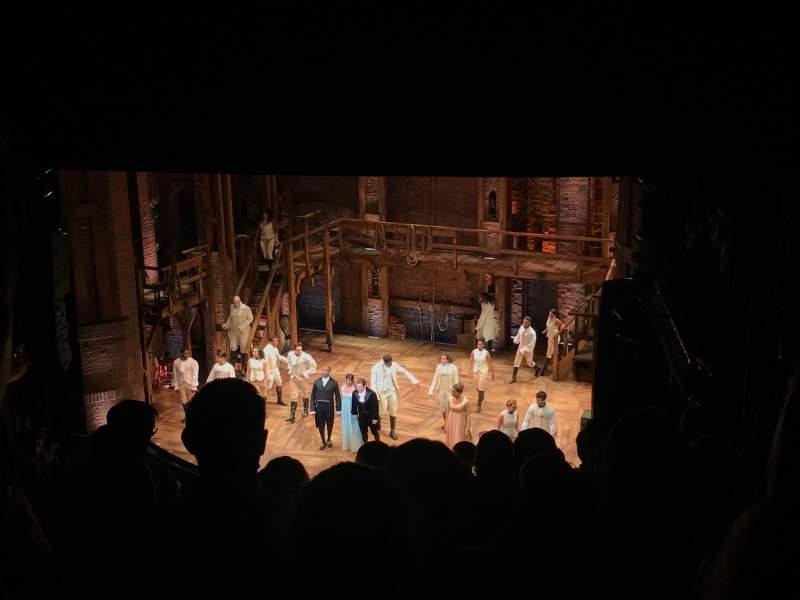 Vistas desde el asiento para CIBC Theatre Sección Mezzanine R Fila K Asiento 14