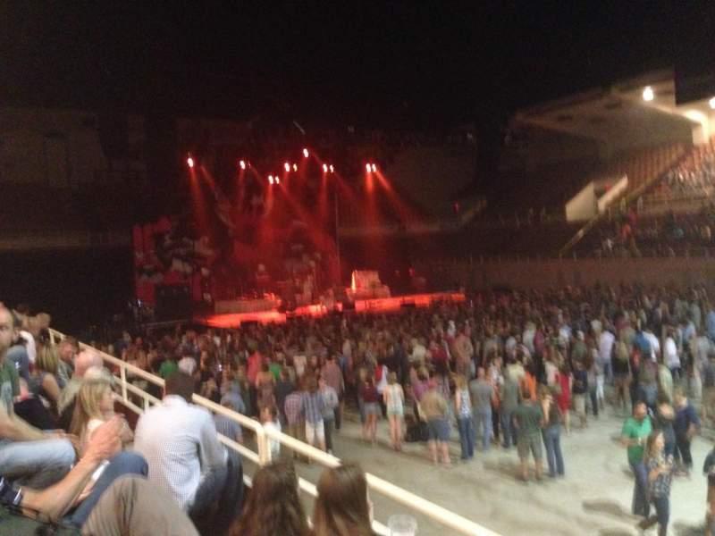 Vistas desde el asiento para Knoxville Civic Auditorium and Coliseum Sección CC Fila C Asiento 9