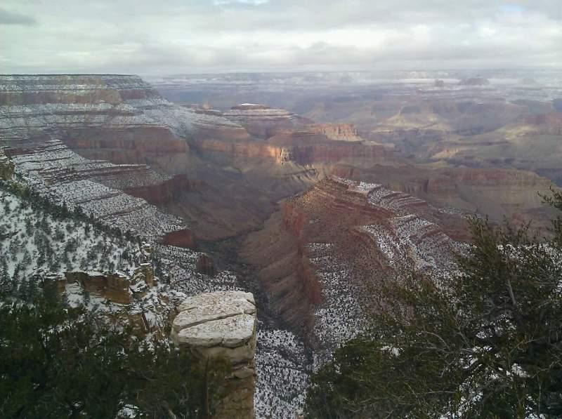 Vistas desde el asiento para Grand Canyon