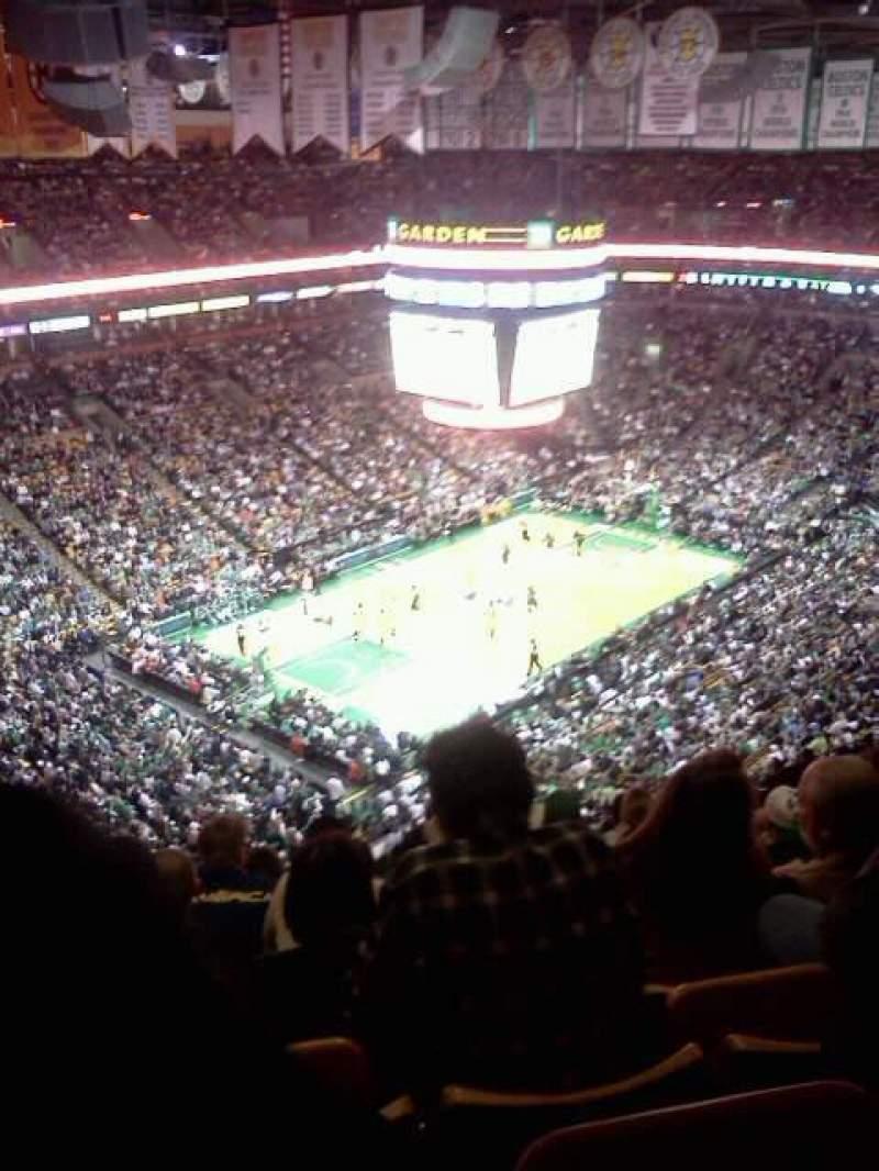 TD Garden, sección: Bal 320, fila: 15, asiento: 15